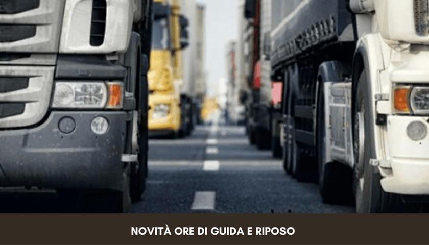 Auto Truck Ore Di Guida E Riposo