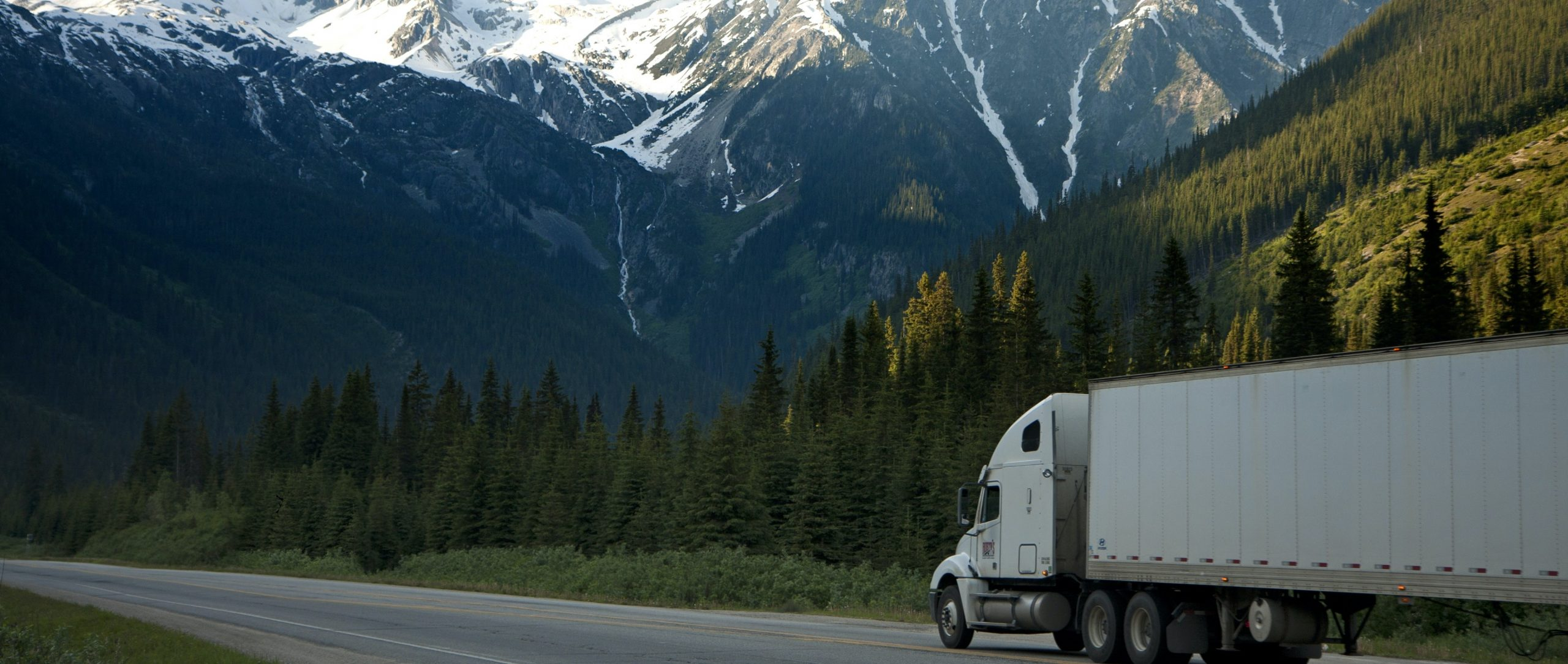 Truck-landscape